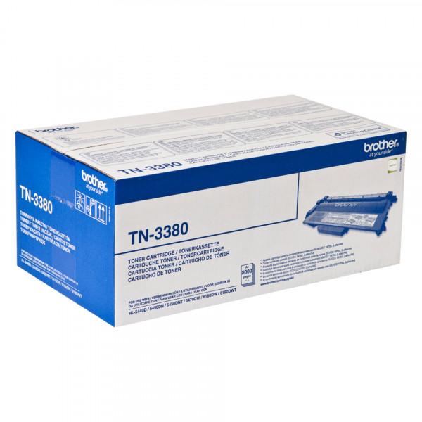 Brother TN-3380 Tonerkassett Lasertoner 8000 sidor Svart