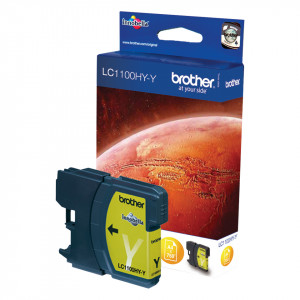 Brother LC-1100HYY Ink Cartridge Gul bläckpatroner