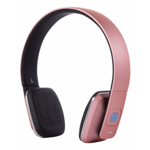 Bluetooth Headset - On-Ear med mikrofon Rosa HL-579