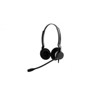 Jabra BIZ 2300 QD Duo Binaural Huvudband Svart headset