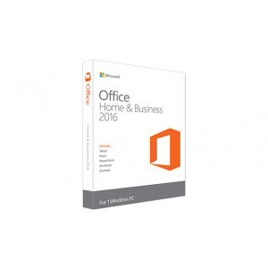 Microsoft Office 2016 Home & Business Svensk (PKC)