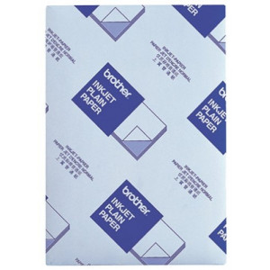 Brother BP60PA Inkjet Paper A4 (210×297 mm) Sidenmatt Vit datapapper