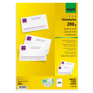 Visitkortspapper 200g 600st