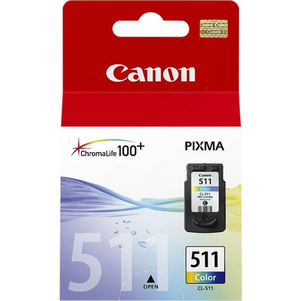 Canon CL-511 Colour Cyan, Magenta, Gul bläckpatroner