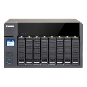 NAS QNAP TS-831X NAS Torn Nätverksansluten (Ethernet) Svart