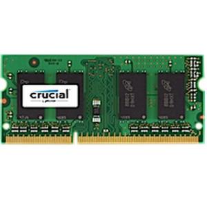 SODIMM DDR3-1600 Crucial 2GB DDR3 2GB DDR3 1600MHz RAM-minnen