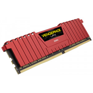DDR4 Corsair V LPX 8GB DDR4 Red 1x288, 2400MHz