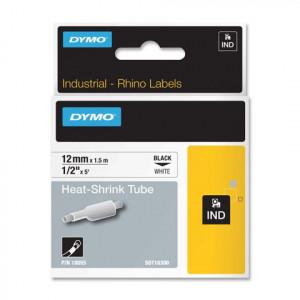 DYMO 12mm RhinoPRO Heat shrink tubes D1 etikett-tejp