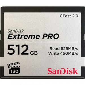 Sandisk Extreme Pro 512GB flashminne CFast 2.0