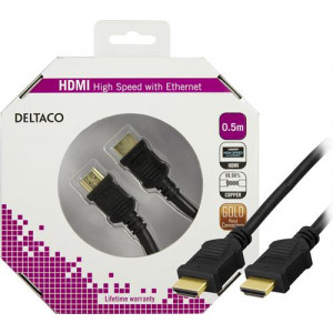 HDMI kabel 4k  0.5m GOLD