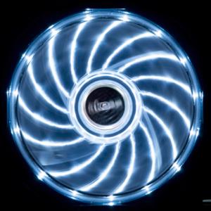 Fläkt Akasa Vegas 120mm LED Vit