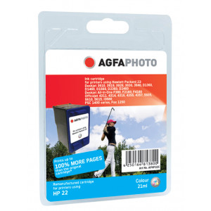 HP 22 Color (AgfaPhoto) 150% mer.