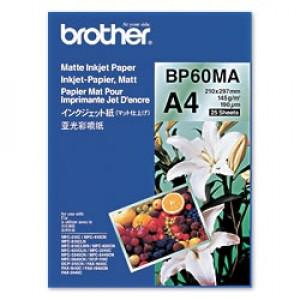 Brother BP60MA Inkjet Paper A4 (210×297 mm) matt Vit datapapper