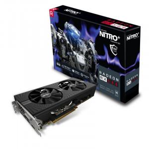 Grafikkort - Radeon RX580 Sapphire 11265-01-20G