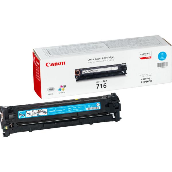 Canon 716 Cyan Laserpatron 1500sidor Cyan