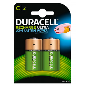 Batteri HR14 Laddningsbara 2200mAh 2-pack Duracell