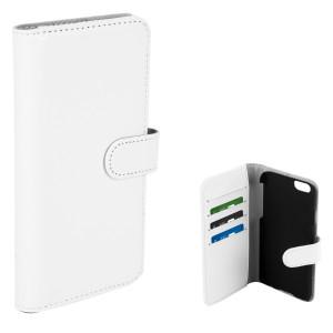 Fodral - iPhone 7/8 - Plånboksfodral Vit