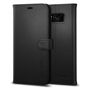 Spigen Galaxy S8 Case Wallet S Black 565CS21635