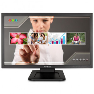 "Datorskärm Viewsonic TD2220-2 21.5"" 1920 x 1080pixlar Flerpunktsberöring Svart Pekskärm"