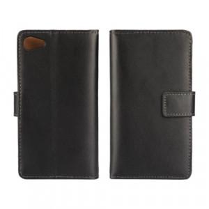 Plånboksfodral till Xperia Z5 Compact, Svart