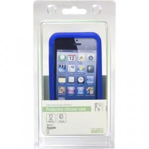Skal - iPhone 5/5s - Silikon Blå*