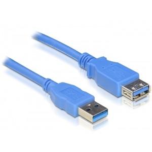 Kabel USB 3.0 A ha - A ho  (2m) förlängning.