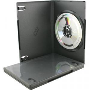 DVD-BOX DVD-51 Hårdplast för 1 skiva (5-pack)