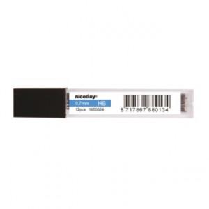 Stift till Stiftpenna 0.7mm HB 12/tub