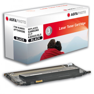 AgfaPhoto APTS4092BE Lasertoner 1500sidor Svart Tonerkassett