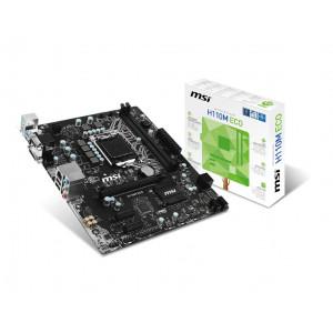 Moderkort -Intel S1151 mATX MSI H110M ECO