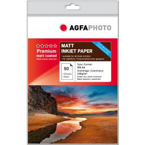 Fotopapper A4 130g Matt InkJet 50st AP13050A4M
