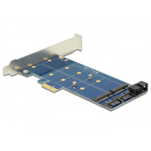 DeLOCK 89374 Intern SATA,USB 3.0 nätverkskort/adapters