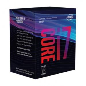 Intel Core ® ™ i7-8700 Processor (12M Cache, up to 4.60 GHz) 3.2GHz 12MB Smart Cache Låda processorer