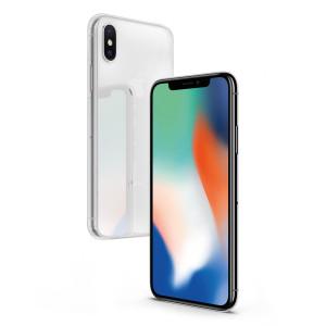 Skal - iPhone X - Slim Transparent Mjukt Skal CHIP8010T