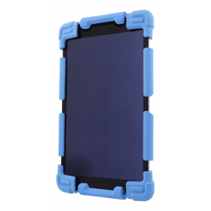 For 7-8 inch Universal all round protective case with stand Blue