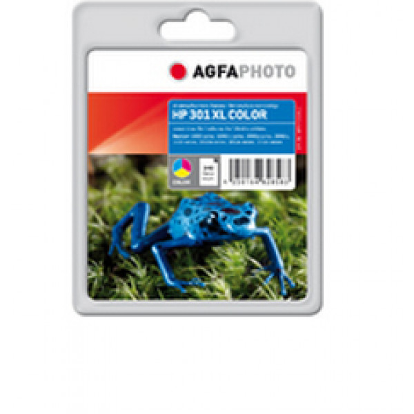 AgfaPhoto APHP301XLC Blå, Cyan, Gul bläckpatroner