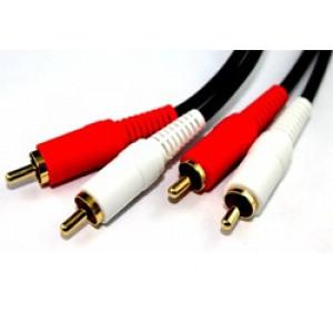 Kabel 2xRCA ha - 2xRCA ha  (0.7m) 7391382002618
