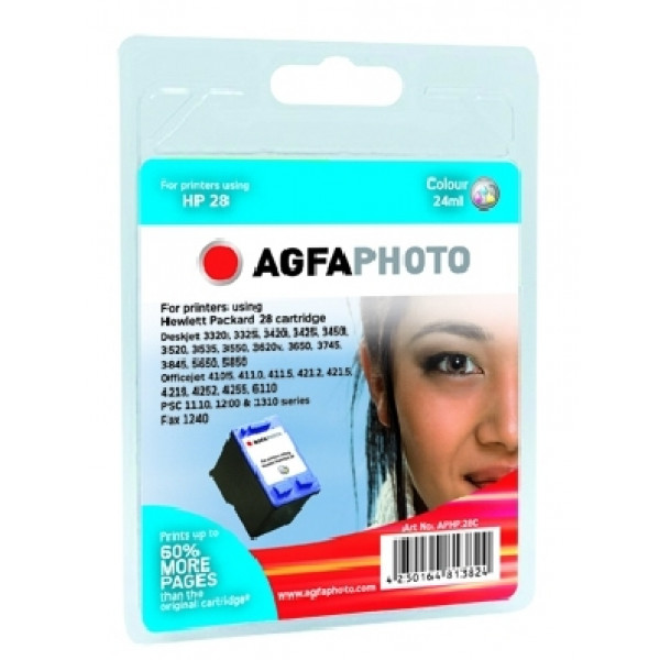 AgfaPhoto APHP28C bläckpatroner