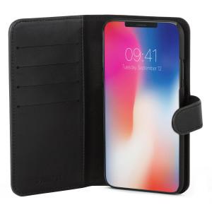 Fodral - iPhone X - Plånboksfodral Svart Champion CHIP8100S