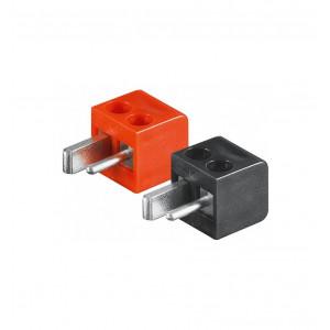 Högtalarkontakt DIN 2-pin med skruvanslutning