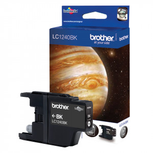 Brother LC1240BK Black 600sid (Original)