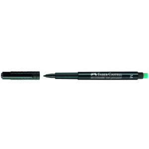 Penna Fiberspets Multimarker permanent svart CD/OH