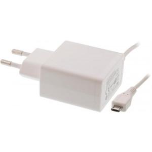 Laddare med integrerad micro USB kabel 2.1A