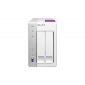 QNAP TS-231P2 NAS Torn Nätverksansluten (Ethernet) Vit