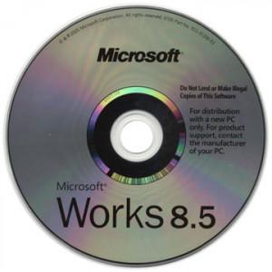 Microsoft Works 8.5 Svensk.
