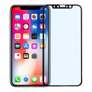 iPhone X / Xs anti blue light glass black