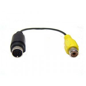 Adapter Svideo 7-pin - RCA (ha-ho).