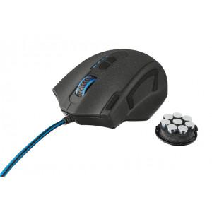 Mus - Trust GTX 155, 11 knappar, 4000dpi, vikter