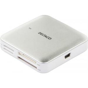 Minneskortläsare extern USB2.0 SD/MicroSD/CF/MS/M2