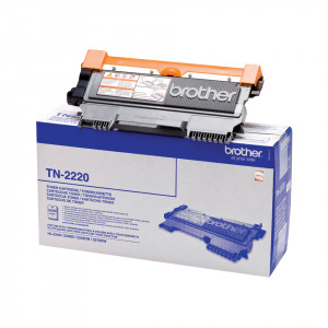 Brother Toner TN-2220 2600 sidor Svart Original